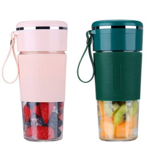 Best Selling [ Local Ready Stock ] Upgraded High Quality 6 Blade USB Portable Electric Juice Waterproof Blender Bottle