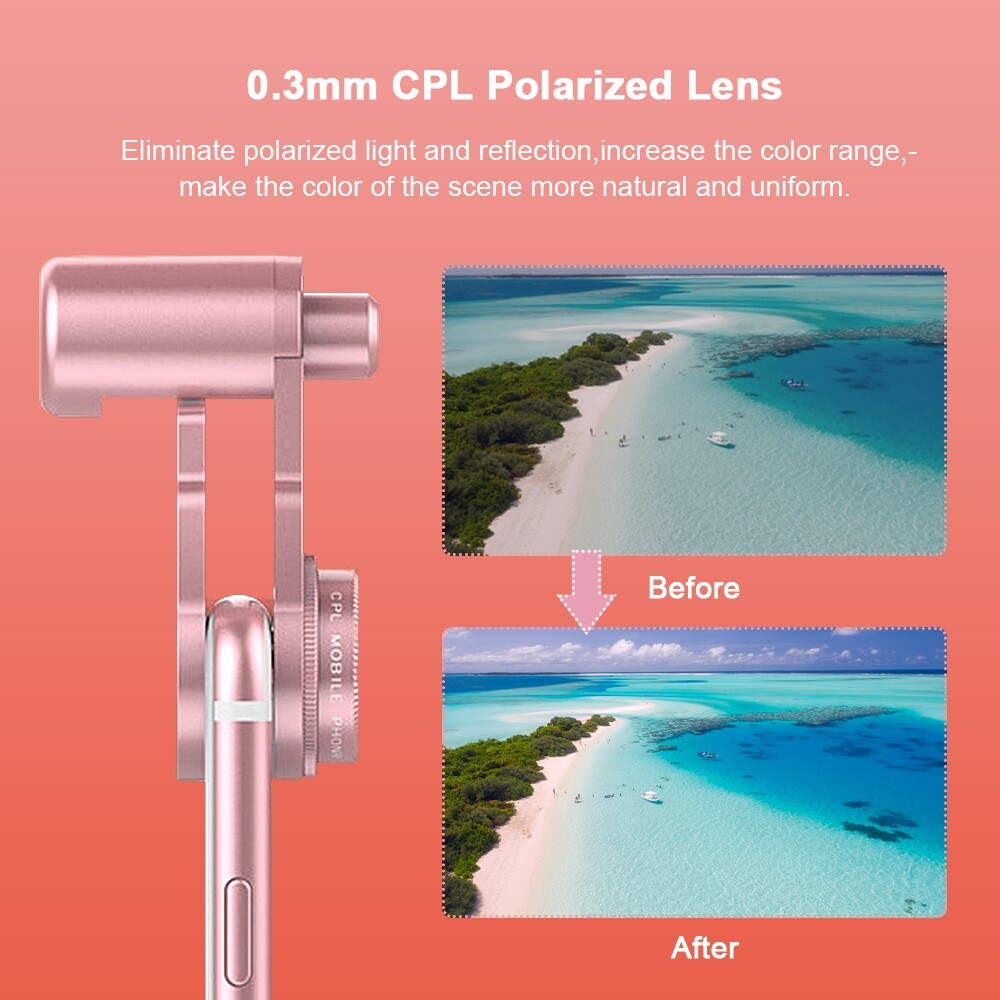 DIY Tools - 10x 4-in-1 Fish Eye+ Wide Angle + Macro Camera Clip-on Lens for iPh - BLACK