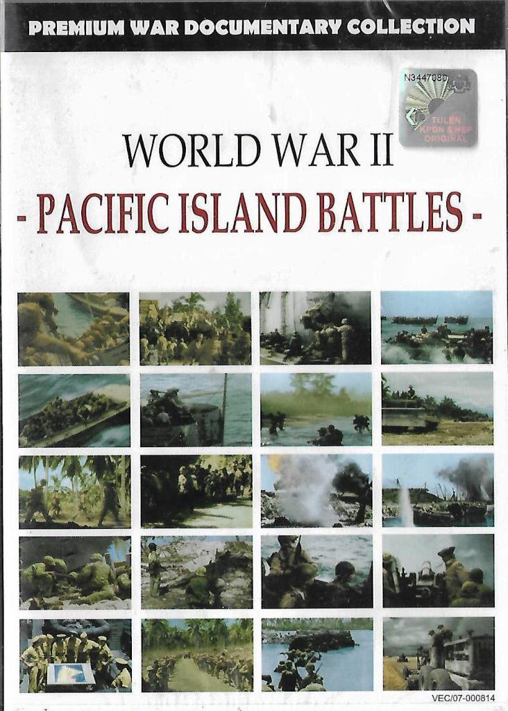 World War II - Pacific Island Battles Documentary Collection DVD