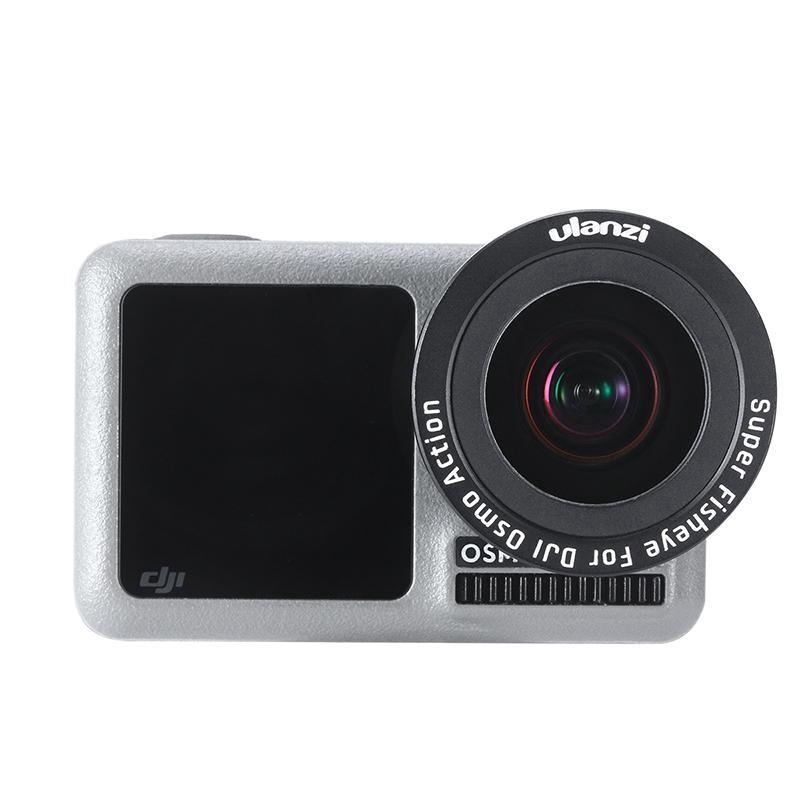 Sports & Action Cameras - Origianl For DJI Osmo Action Camera ULANZI OA-6 Fisheye Lens - Drones