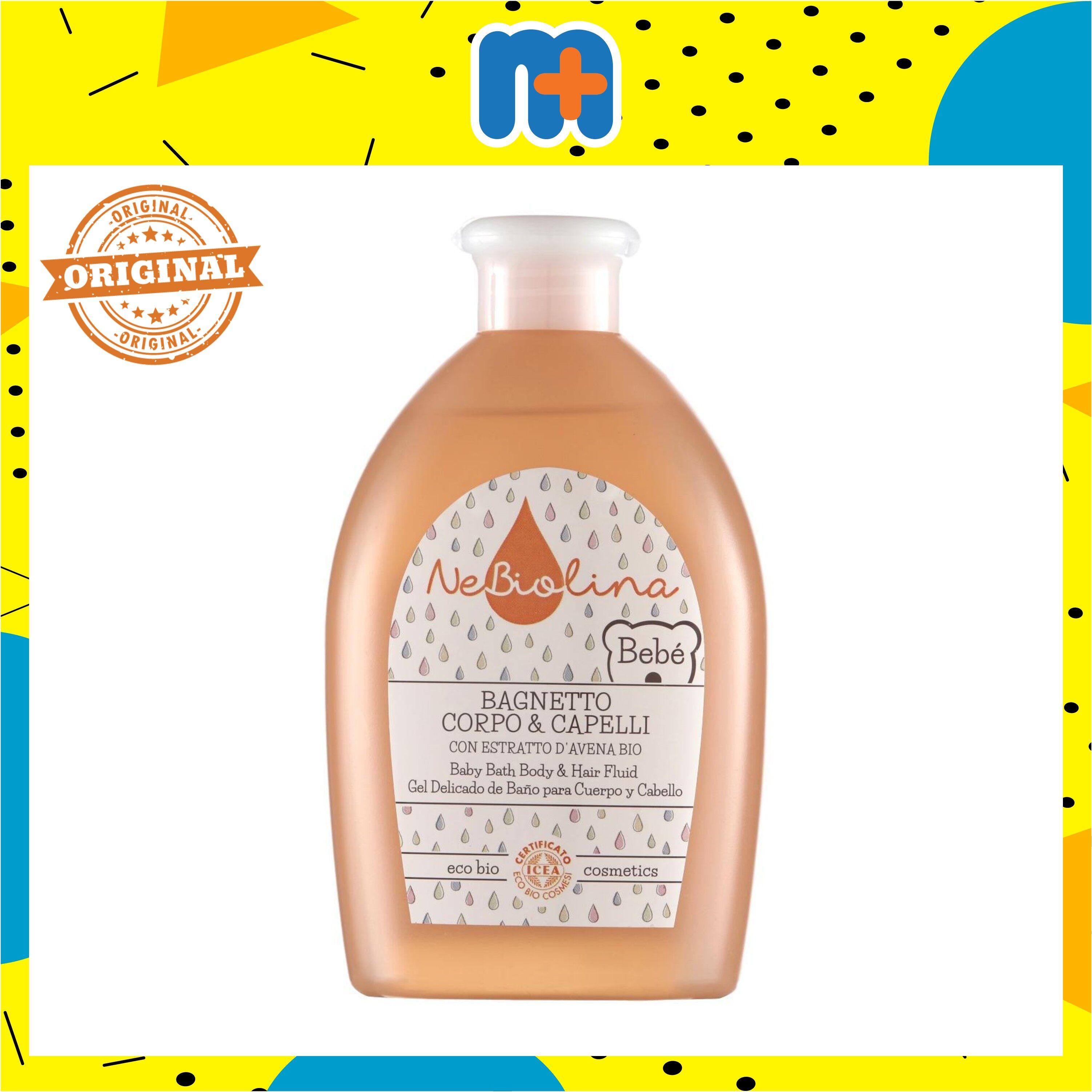 [MPLUS] NEBIOLINA BABY BATH BODY & HAIR FLUID 500ML