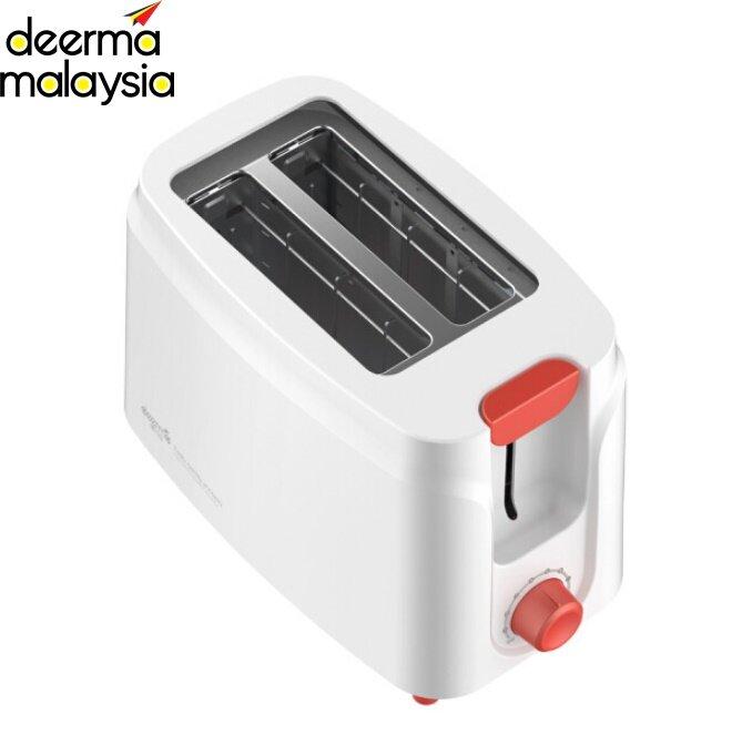 Deerma SL261 2 Slice Household Bread Toaster Oven  (White)