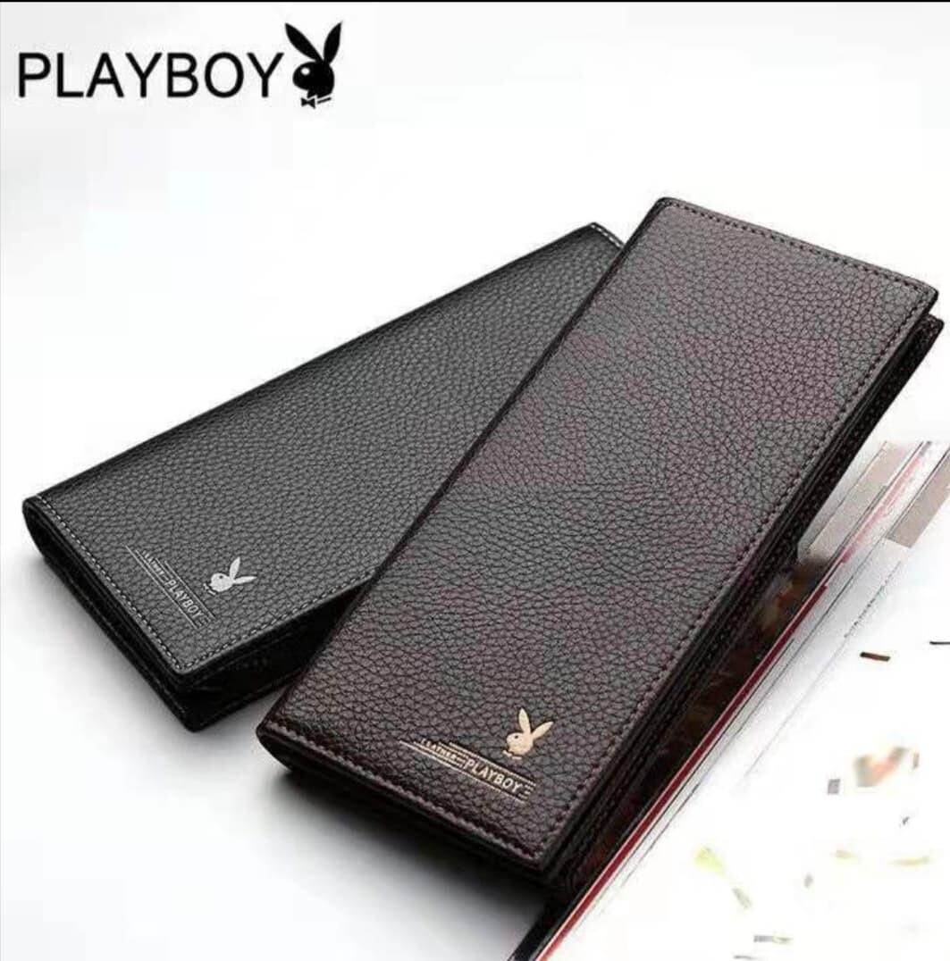 PB Long Famous Men Casual Leather Short Wallet Wallets