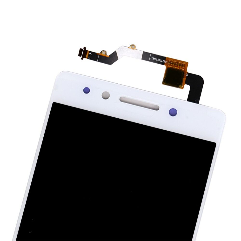 LCD Display and Touch Screen Digitizer Assembly Replacement For Lenovo K8 Note - WHITE / BLACK