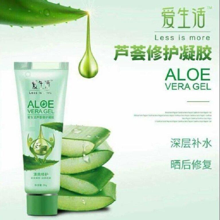 GREENLEAF Organic Aloe Vera Repair Gel 50g