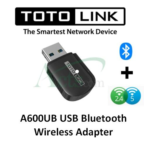 Totolink A600UB 600Mbps USB Bluetooth Wireless Adapter