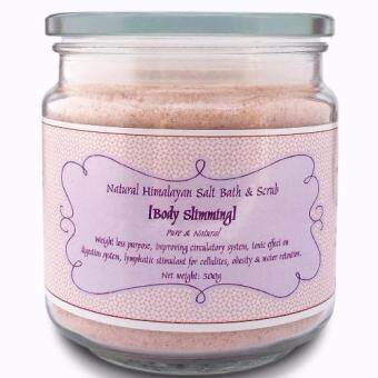 Body Slimming Salt Bath and Scrub