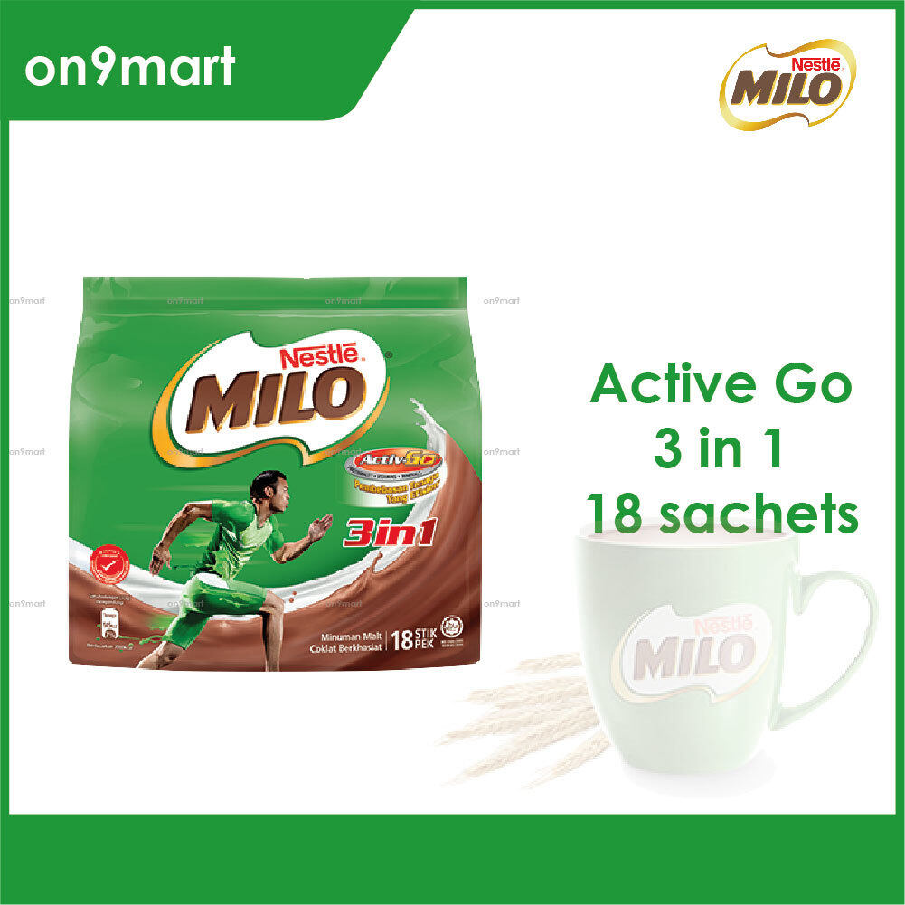 Nestle MILO 3 in 1 Activ-Go 18 x 33g