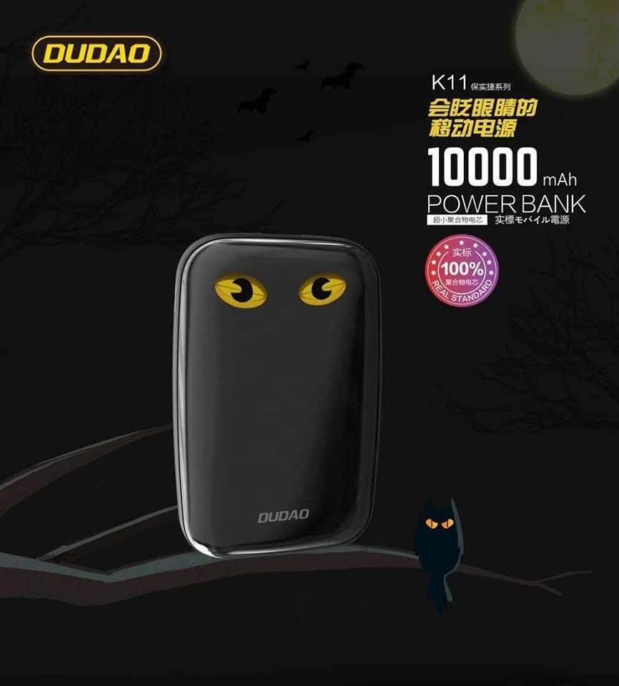 DUDAO Super Mini Cute 10000mAh PowerBank