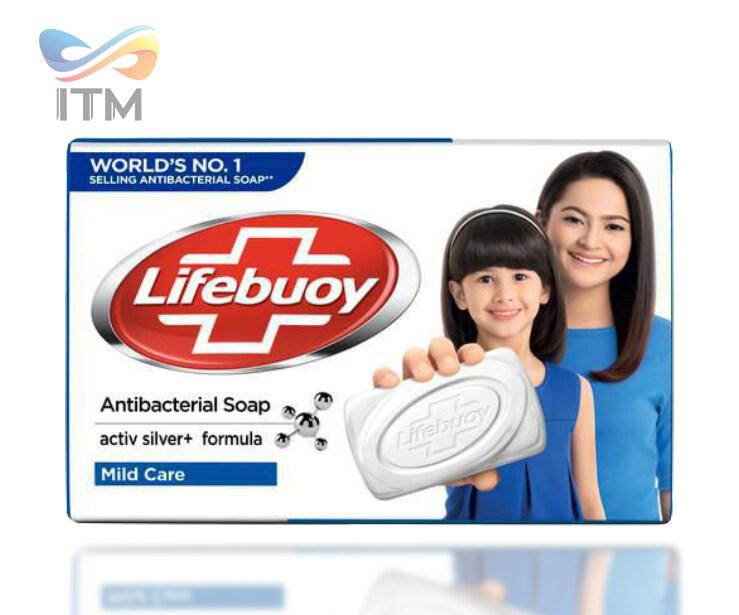 LIFEBUOY MILD CARE SOAP BAR 110 GM x 4