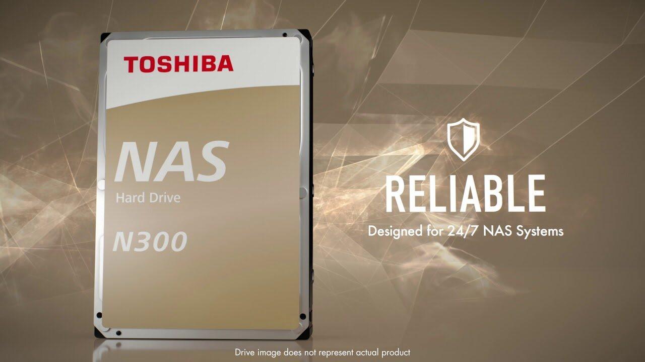 Toshiba Desktop Hdd NAS SATA III 128MB 7200RPM N300 4TB / 6TB / 8TB / 10TB / 12TB