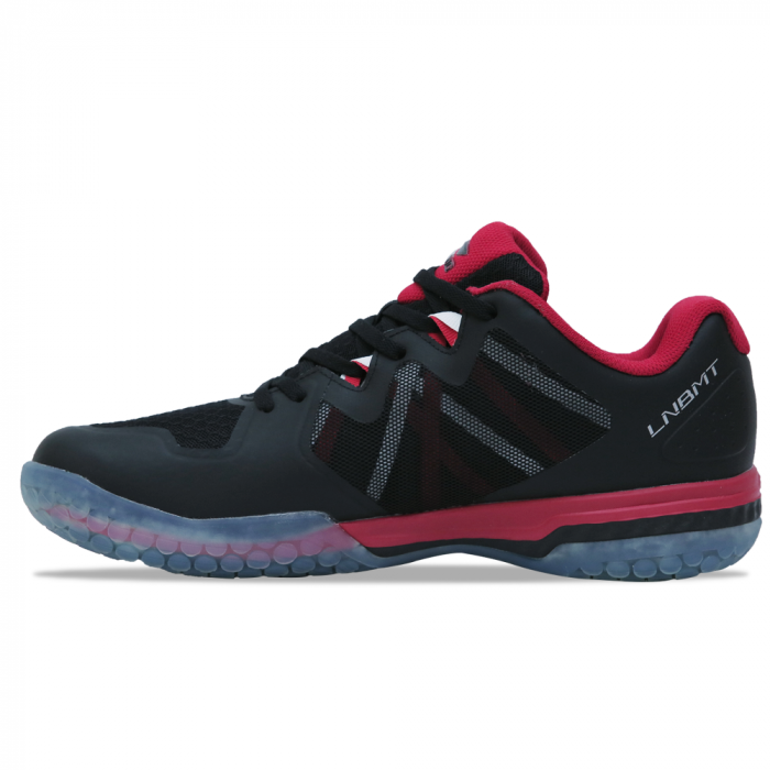 Li Ning Dual Cloud II Badminton Shoes - Black AYTN083-2