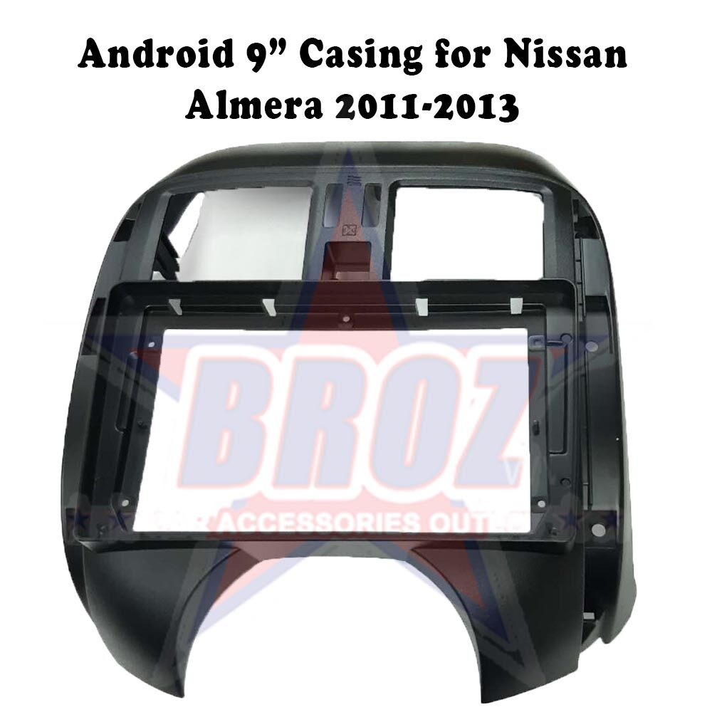 9 inches Car Android Player Casing for Almera 2011-2013