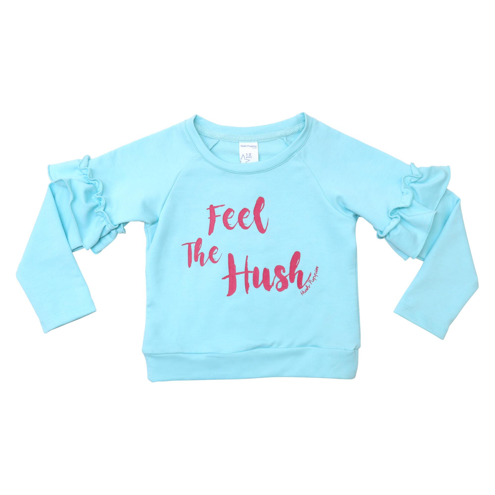 Hush Puppies Kids's Girl Vicious Long Sleeve Tee With Graphic Print  HGT835960