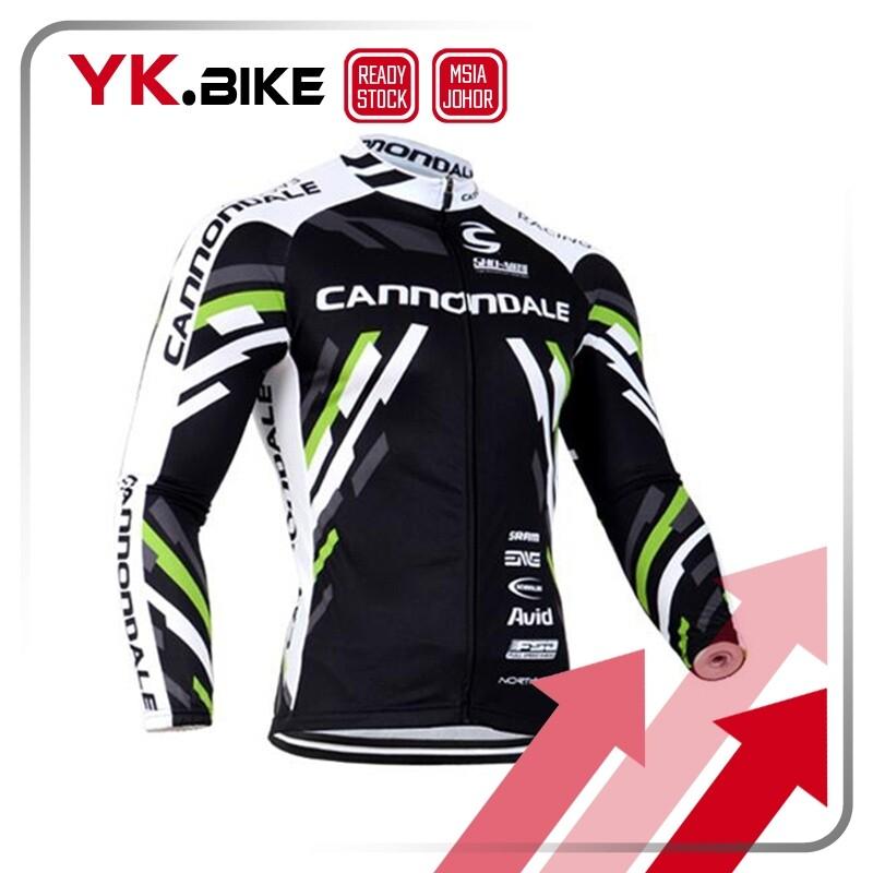 YKBIKE [LOCAL READY STOCK] Cycling Jersey Long Sleeve Team Cycling Clothing Comfortable Gel Pad Long Pant MTB Bike Cycling Clothing APL60
