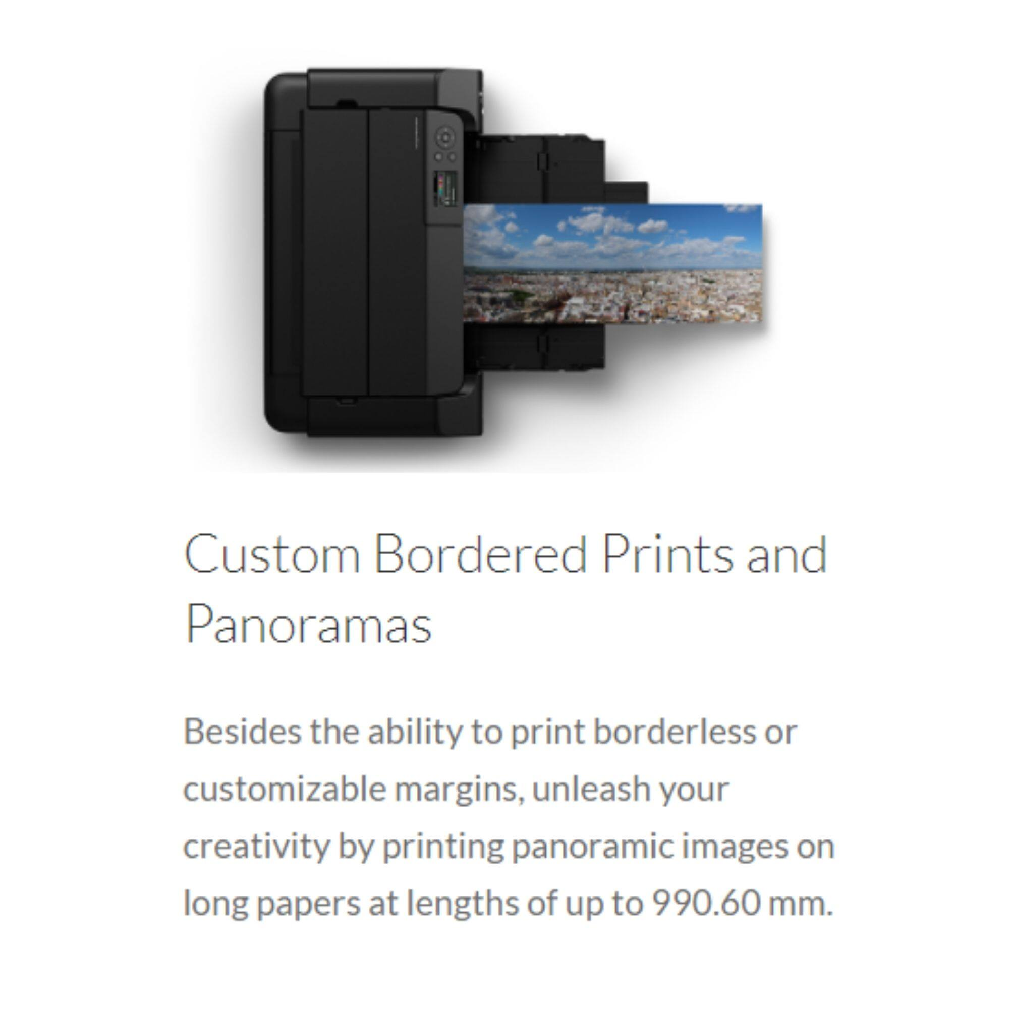 Canon Pixma Pro-300 A3+ Size Professional Photo Printer ( With Wifi / Ethernet / Airprint / 10 colors ink system )