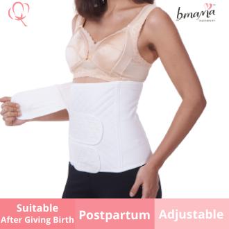 Bmama 3 Strap Belly Binding (Free One Nursing Bra)