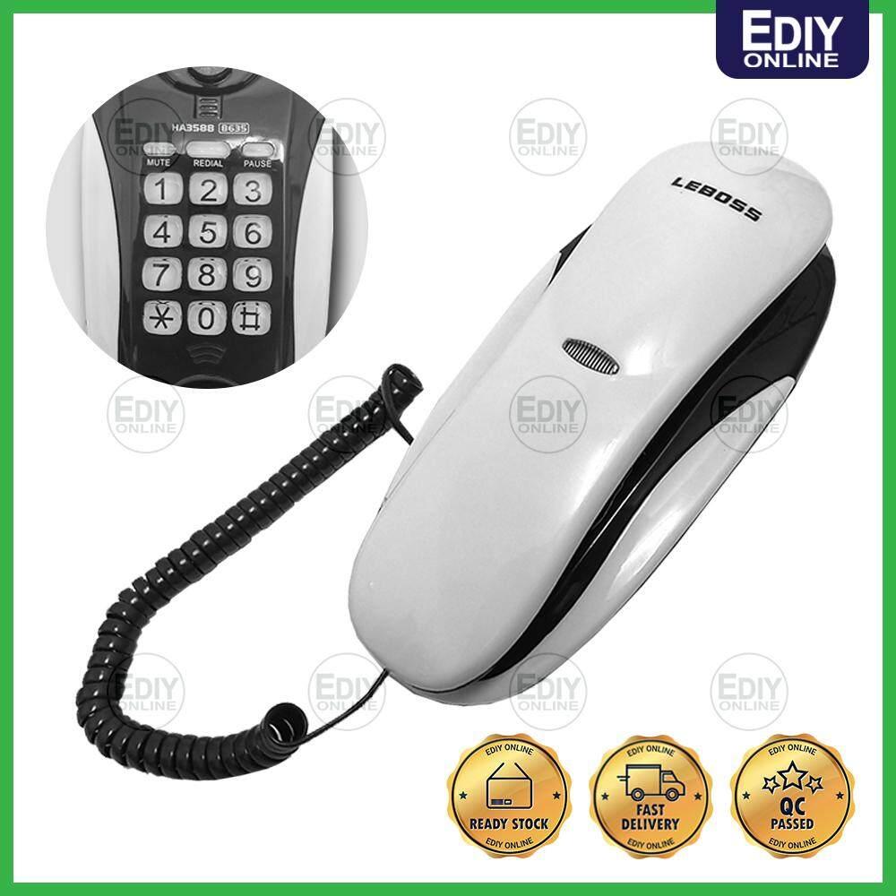 LEBOSS CONVENIENT TELEPHONE PHONE B635 (RANDOM COLOR)_3601009 [EXTRA BOX PACKING]