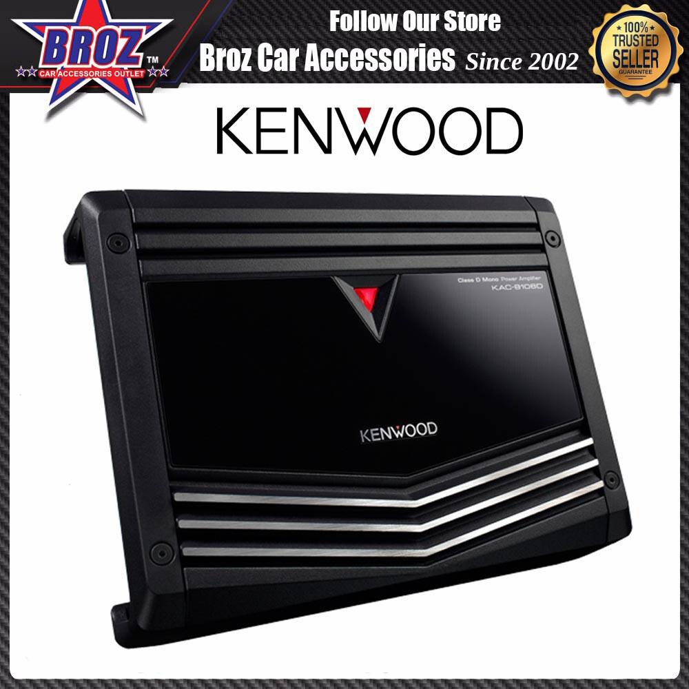 Broz Kenwood KAC-8106D 1000W Mono Block Car Amplifier