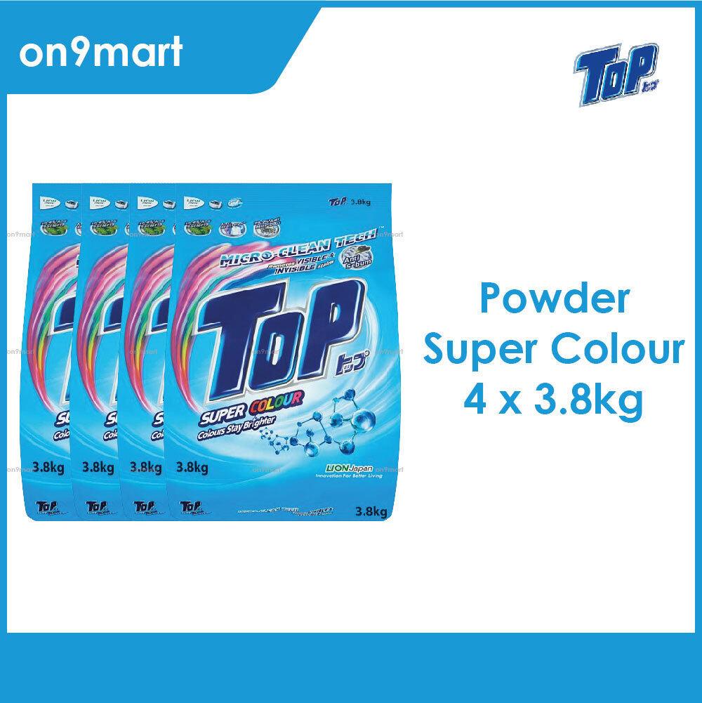 TOP Powder Laundry Detergent - Super Colour 4 x 3.8kg