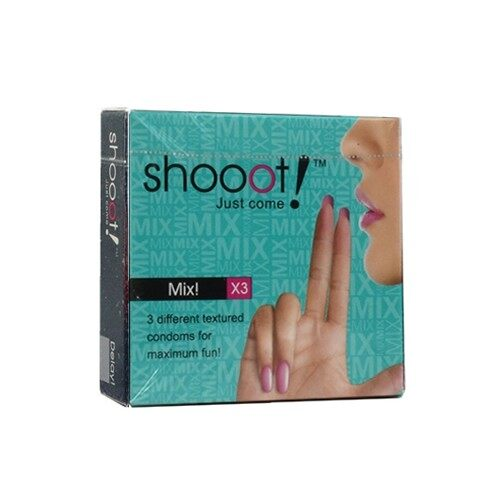 SHOOOT Condom 3's - Mix