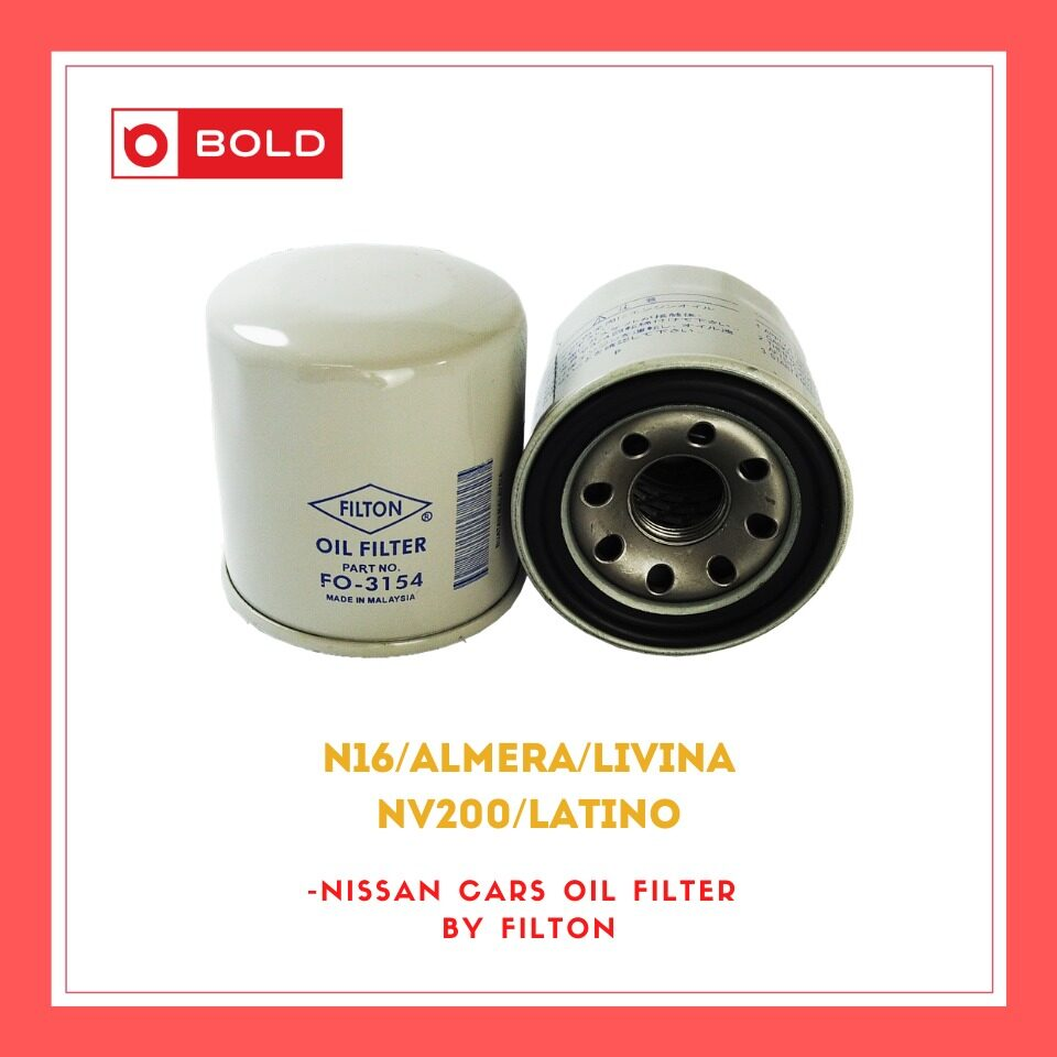 Nissan Cars Oil Filter Almera / Latino / NV 200 / Livina / N16