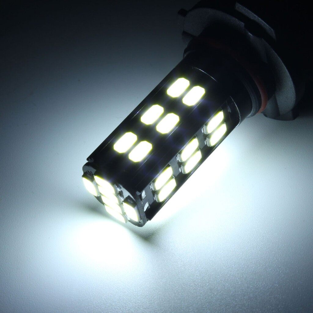 Car Lights - 2x 9005-HB3 5630SMD 6000K Bright White 30LED Bulb Car Fog Lamp Driving Light 12V - Replacement Parts