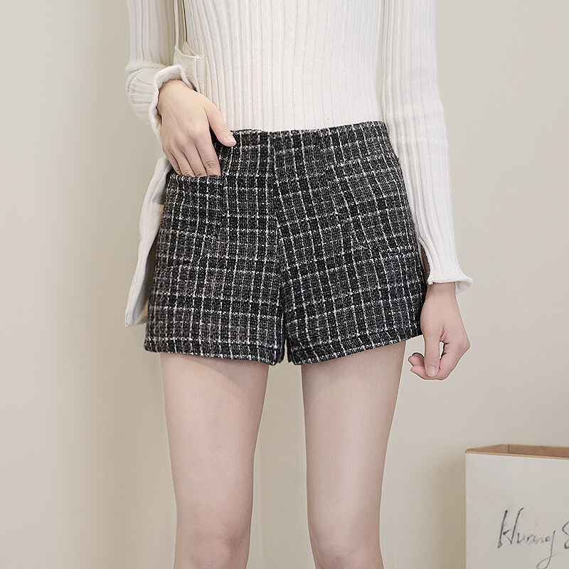 (Pre Order14 Days JYS Fashion Korean Style Women Short Pant Collection533-3335col533-3335--Dark Grey -S
