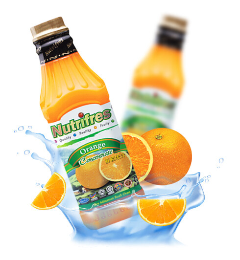 NutriFres Orange Concentrate / Cordial 1L