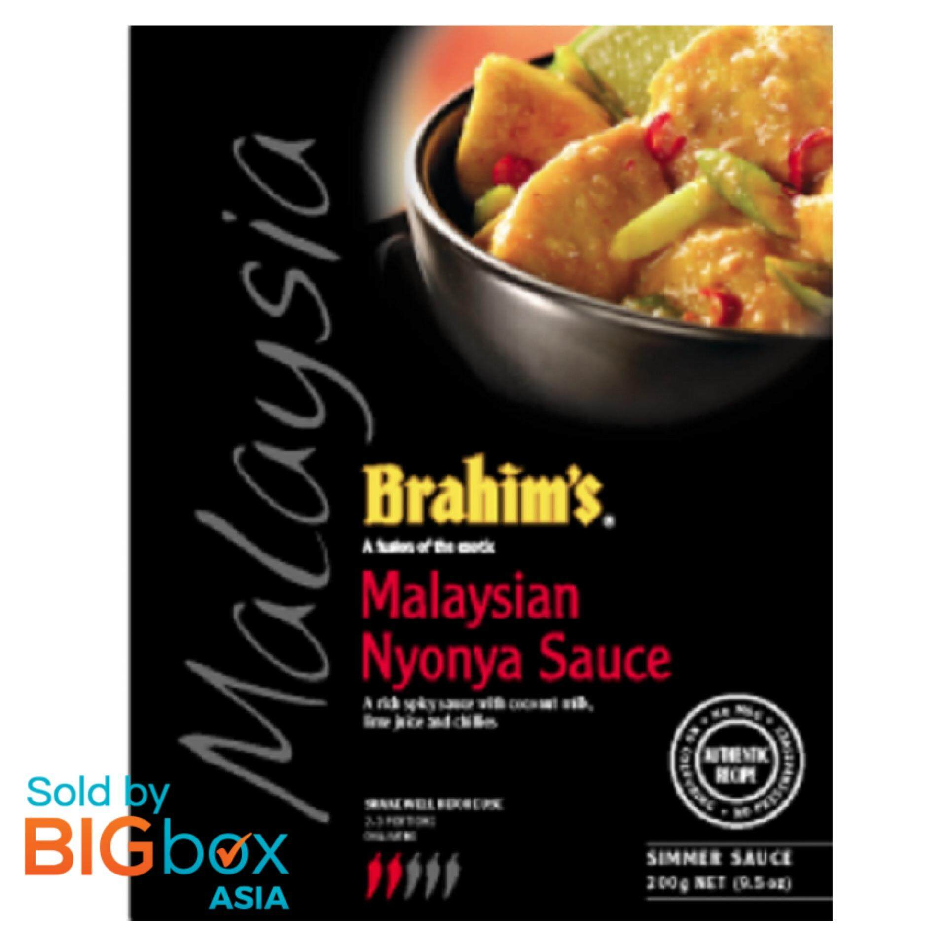 [BIGBox Asia] Brahims Nyonya Simmer Sauce/Kuah Nyonya 300g - Malaysia