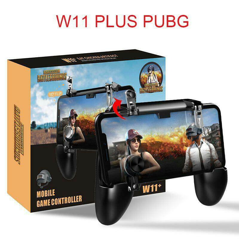W11 Mobile PUBG Update Version Gamepad Controller PUBG L1R1 Fire Button Trigger [Local Shipping]