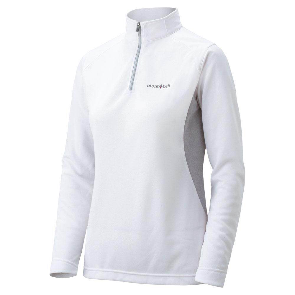 MontBell Wind Protection Wickron Zeo Long Sleeve Zip Shirt Women's