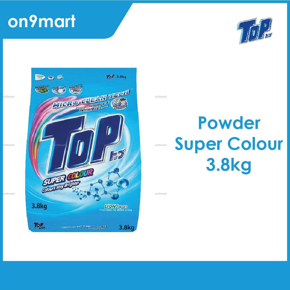 TOP Powder Laundry Detergent - Super Colour 3.8kg