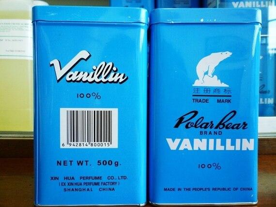 Vanilin Powder Polar Bear Serbuk Vanila 500g - Methyl vanillin - Vanillic aldehyde - Food Grade