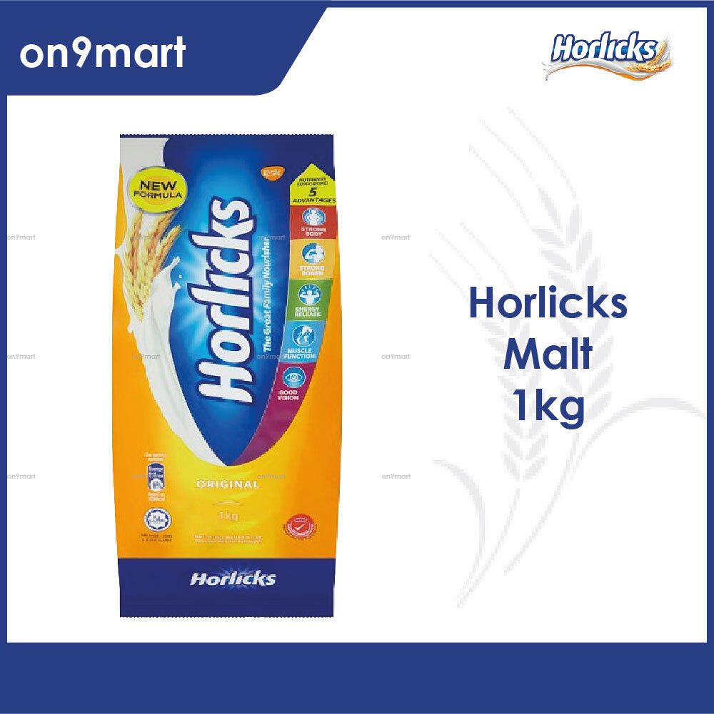 Horlicks Malt Powder Original Drink 1kg