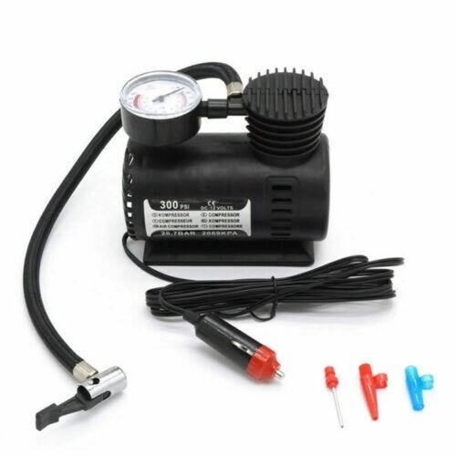 300 PSI MINI Air Compressor 12V Car Auto PORTABLE Pump Tire Inflator W/gauge