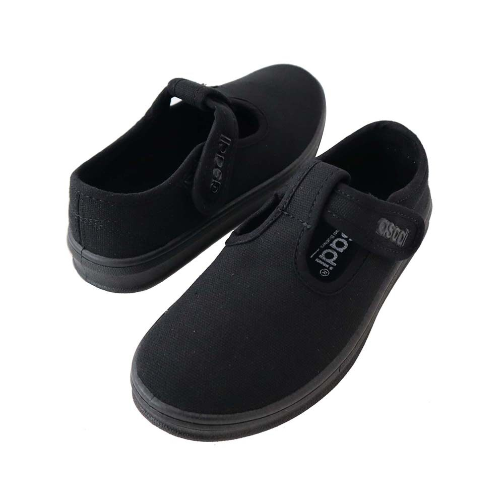 asadi Unisex Black School Shoe - Kasut Sekolah [SS-3-6545-RF]