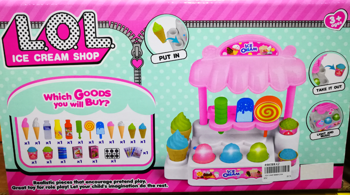 Ice Cream Happy Shop Toys Set for girls