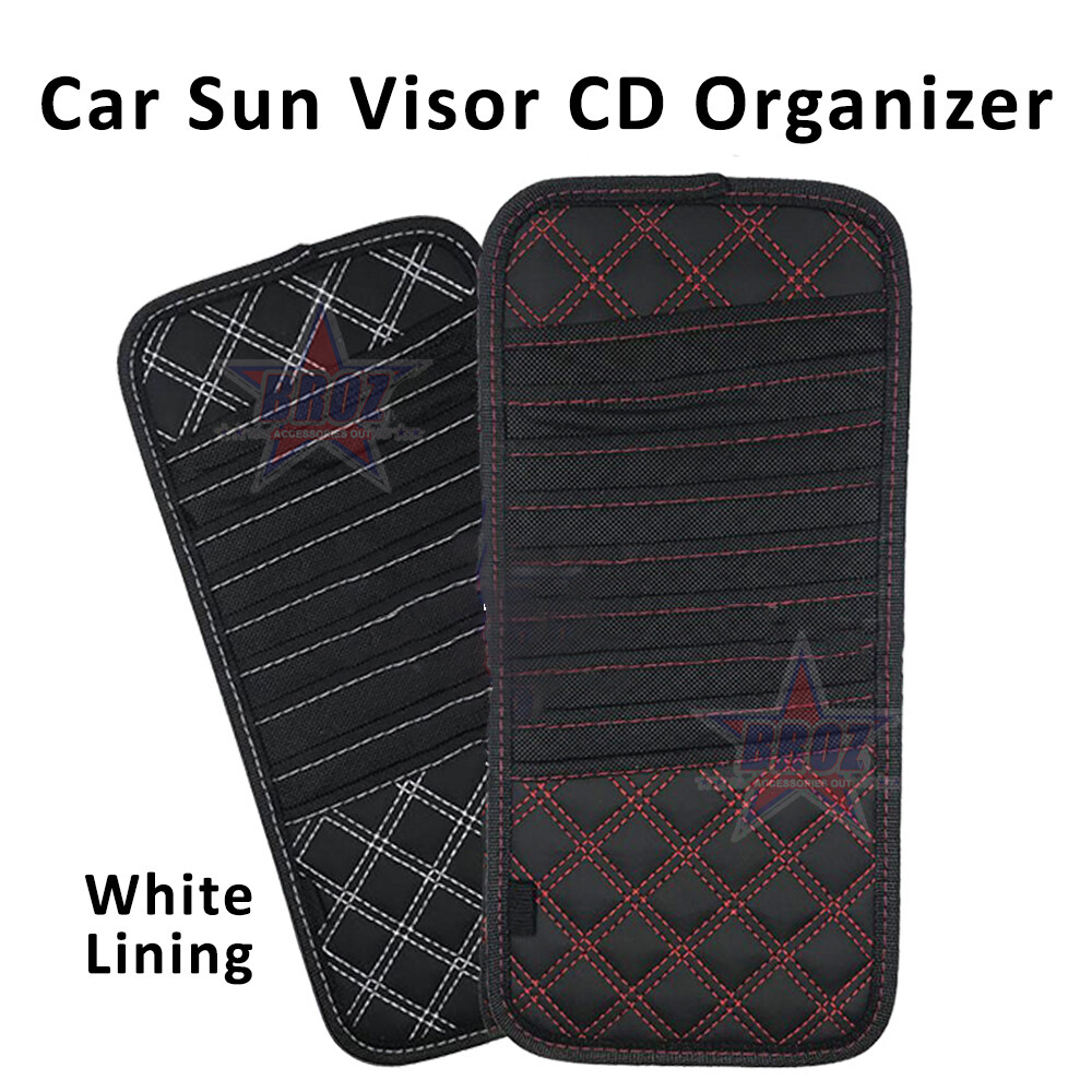 Broz Korean Wine Series Multifunction Car Sun Visor CD/DVD Storage