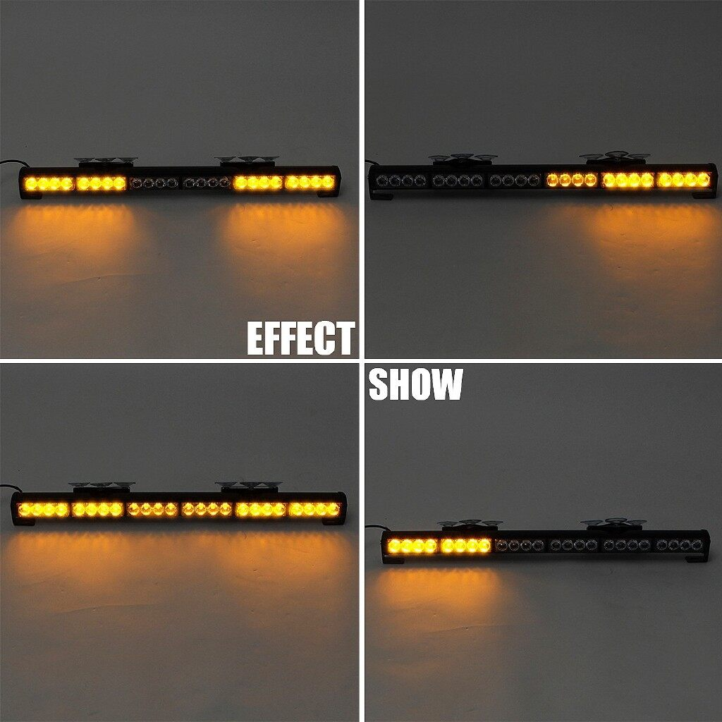 Car Lights - LED Emergency Traffic Advisor Light Bar Warning Flash Strobe Amber - Replacement Parts