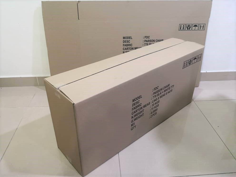 5pcs Printed Carton Boxes (L945 X W240 X H415mm)