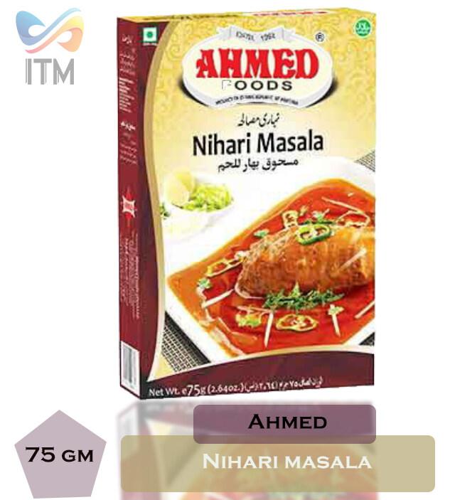 AHMED NIHARI MASALA SINGLE PACK 75GM