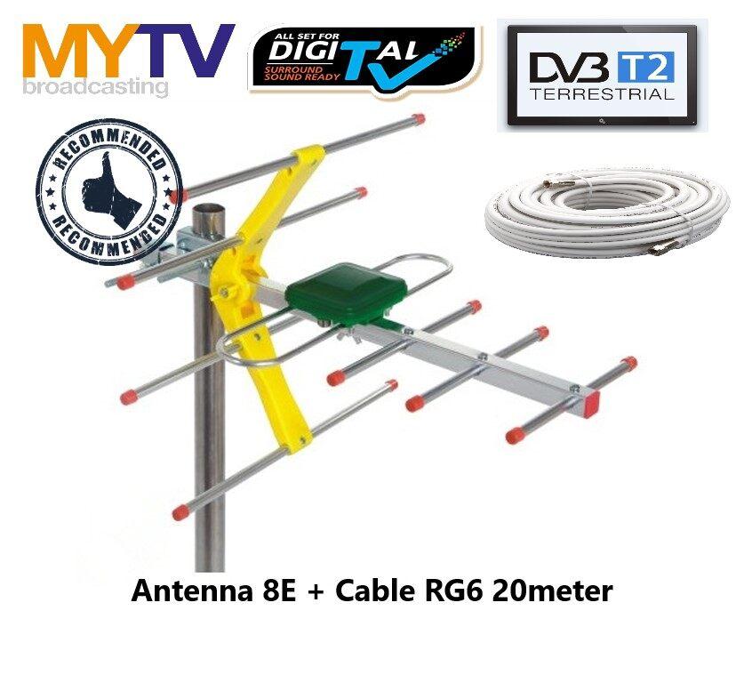 Antenna 8E + 20meter