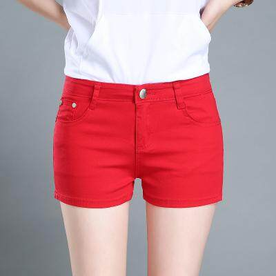 (PreOrder14 Days  JYS Fashion Korean Style Women Jeans Pant Collection-5216095col521-6095--Red-25
