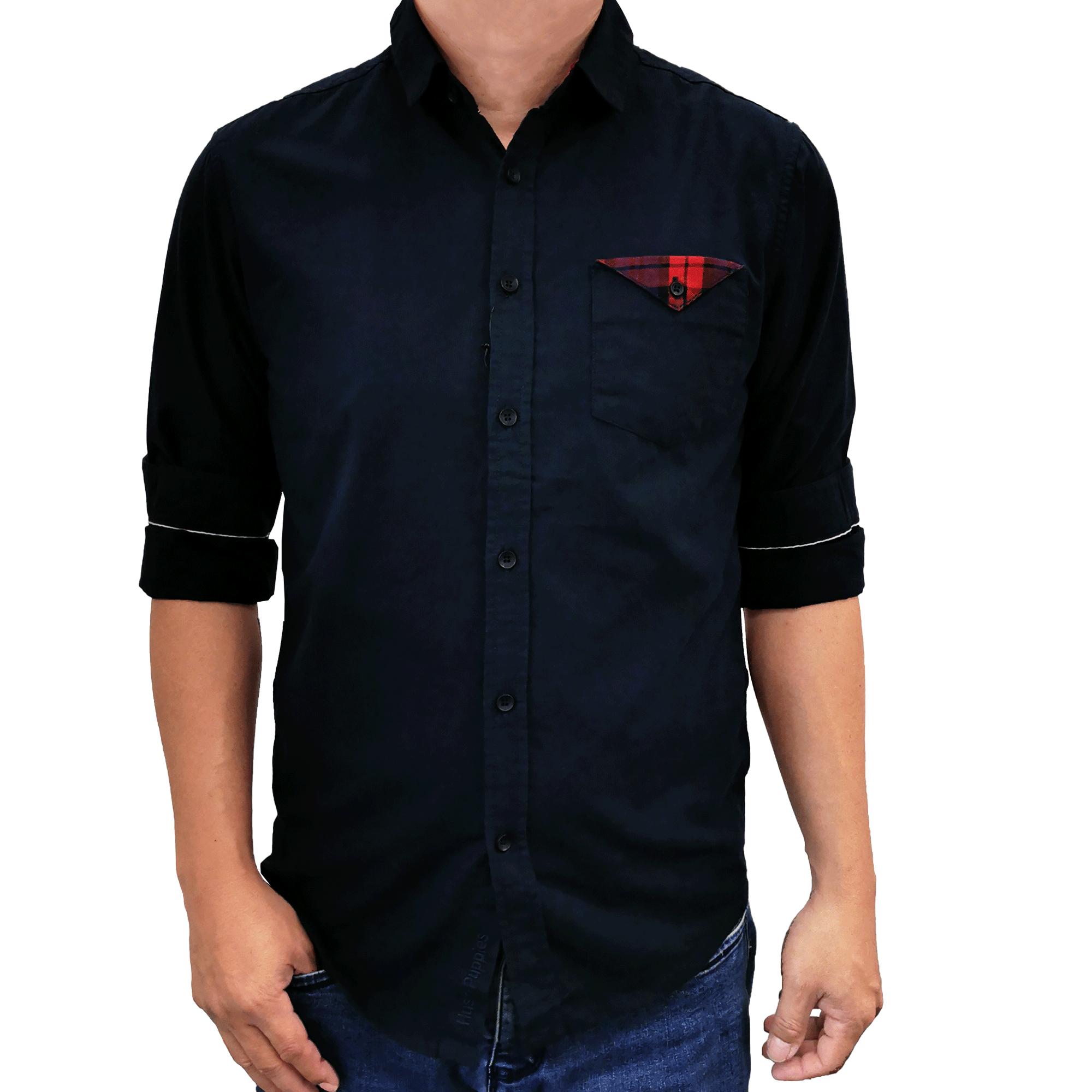 Hush Puppies-Cole Long Sleeve Shirt  HMW773997