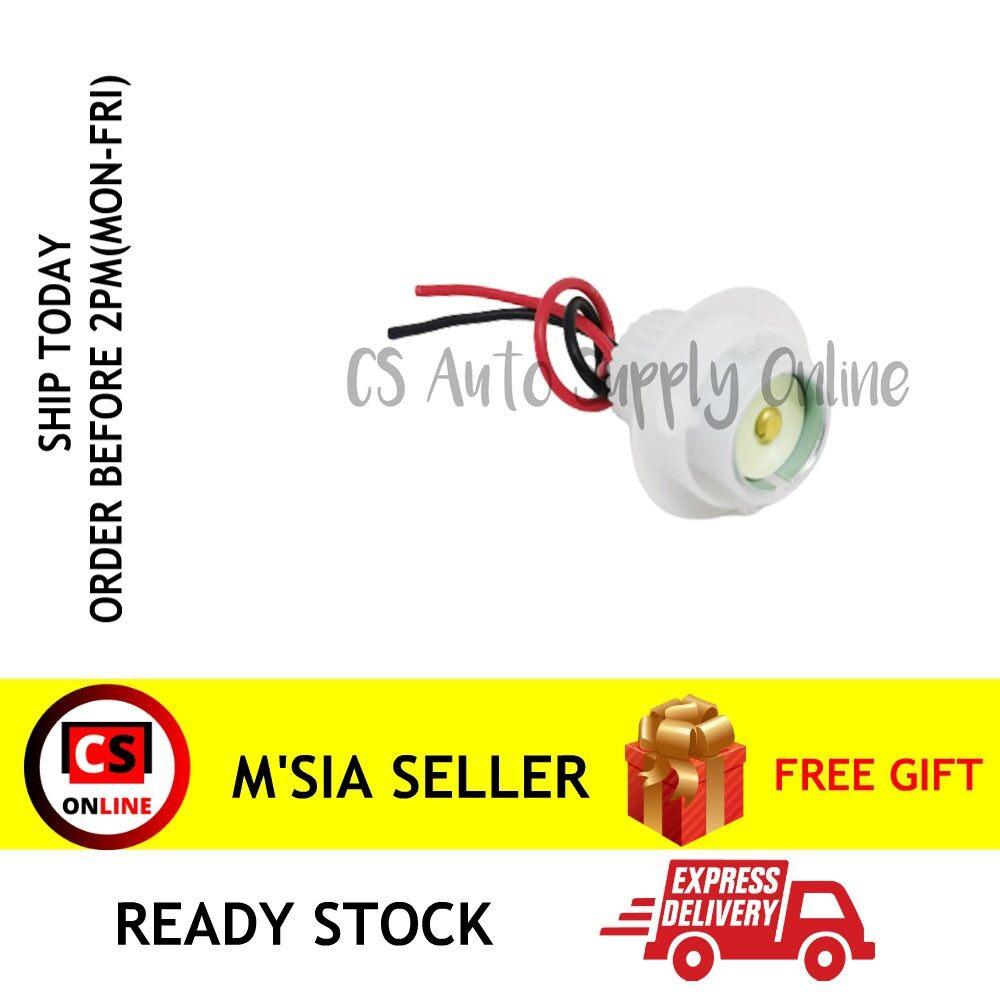 [Ready stock] Bulb Holder 1141 1156 BA15S 12V 24V Plastic PVC Adaptor Socket wire Harness Mentol 1 Kaki (1pc)