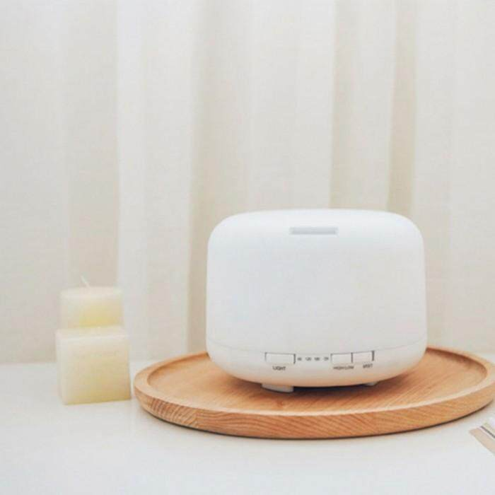 500ML ( Local 3 Pin Plug ) Ultrasonic Aroma Humidifier Purifier Diffuser Zen-Like No Noise Quiet Light Diffuser