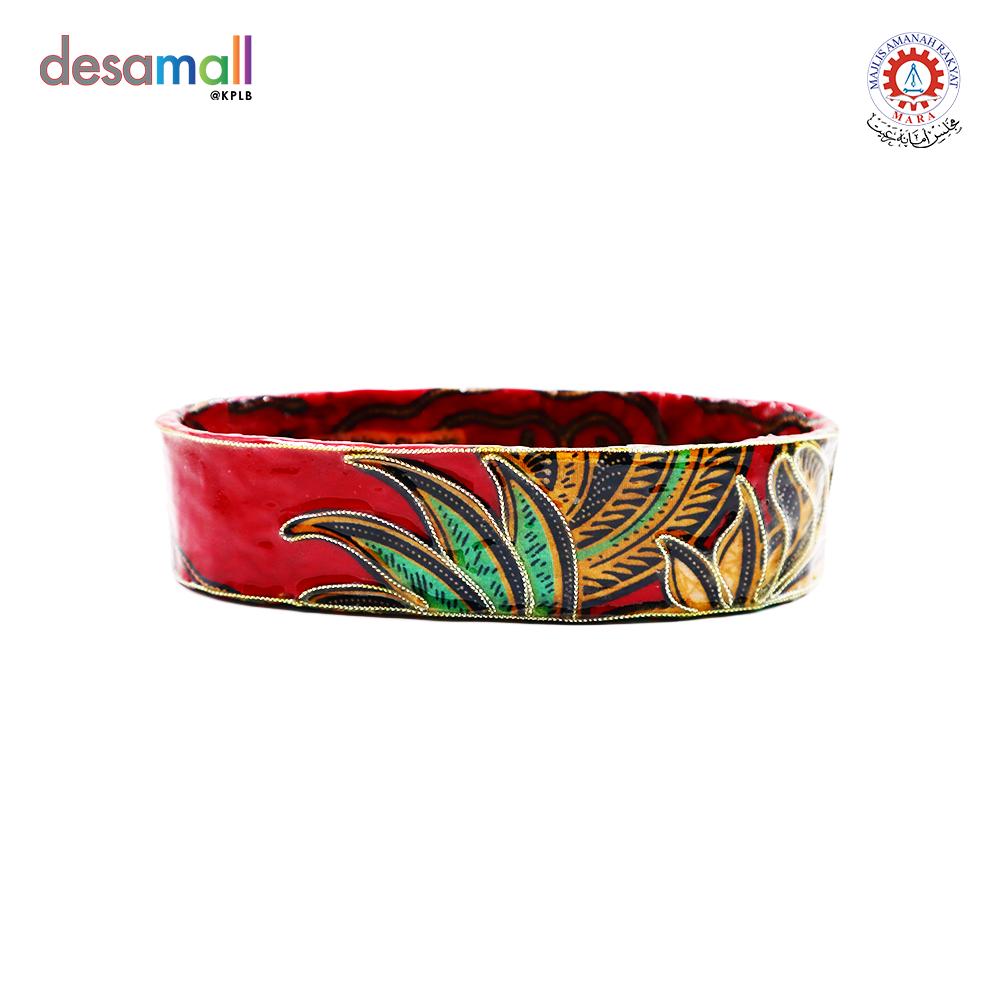 HANDMADE BATIK VASE BY MAKNGAH SHIDA Batik Vase Oblong - Medium
