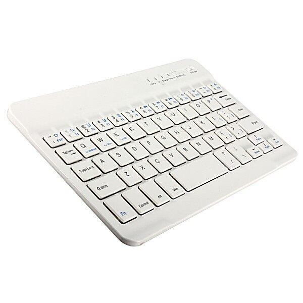 Mac Accessories - Slim Aluminum WIRELESS BLUETOOTH Keyboard Macbook iPhone 8 iPad Pad Tablet_3C - BLACK / WHITE