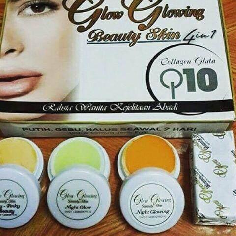 Dara Anggun Glow Glowing Beauty Skin Set 4 in 1